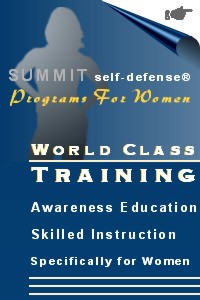 Self Defense Training Programs for Women from SUMMIT self-dfenese®