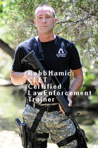 Robb Hamic, Certified Law Enforcement Trainer, SUMMIT self-defense®